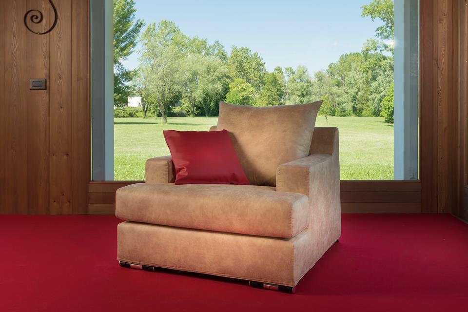 Poltrone teedy venice arredamenti interni divani for Bergamin arredamenti mestre